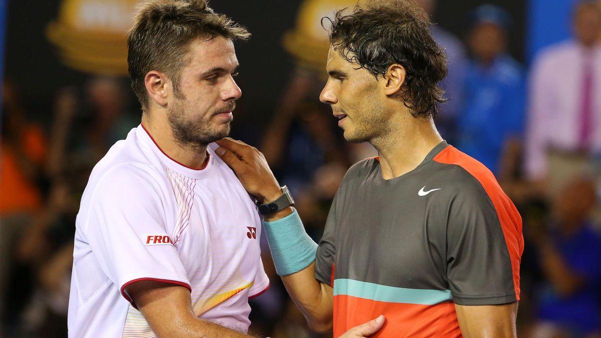 Nadal und Wawrinka beim Finale
