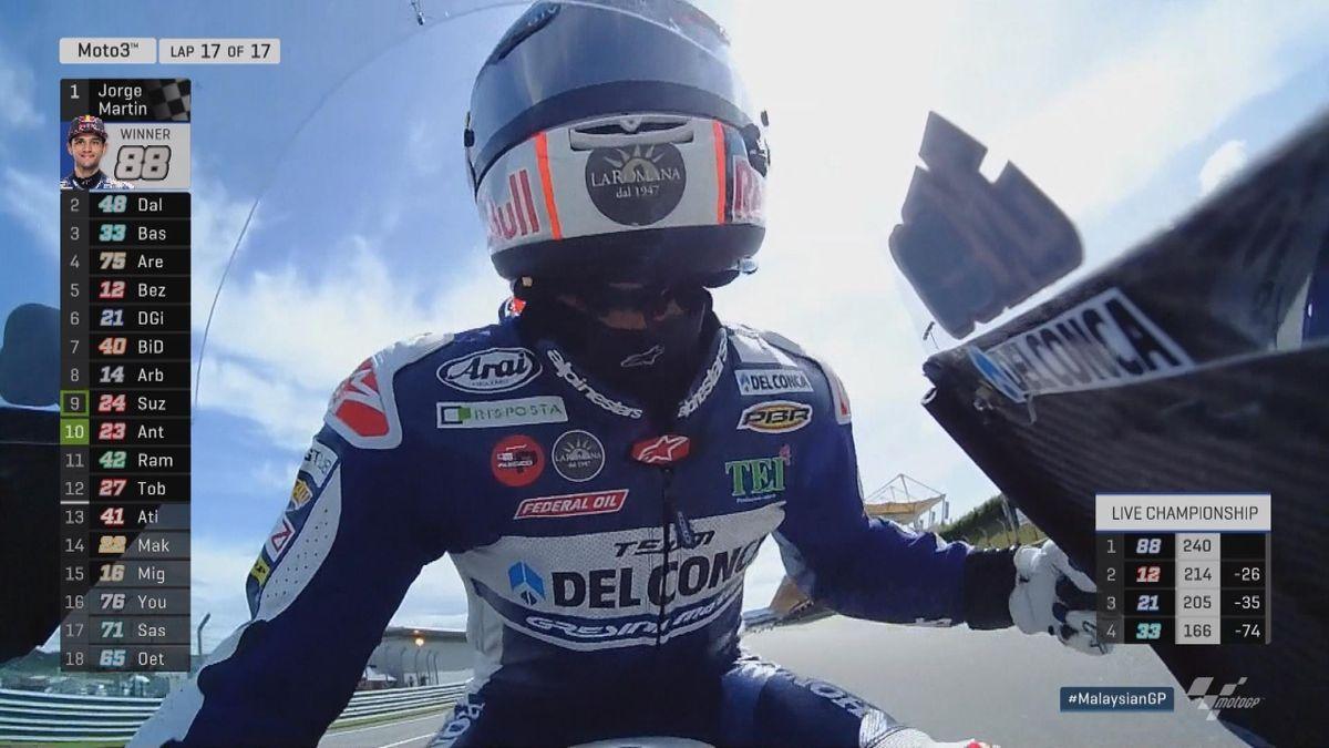 Malaysia GP - Moto 3 - HLTS race