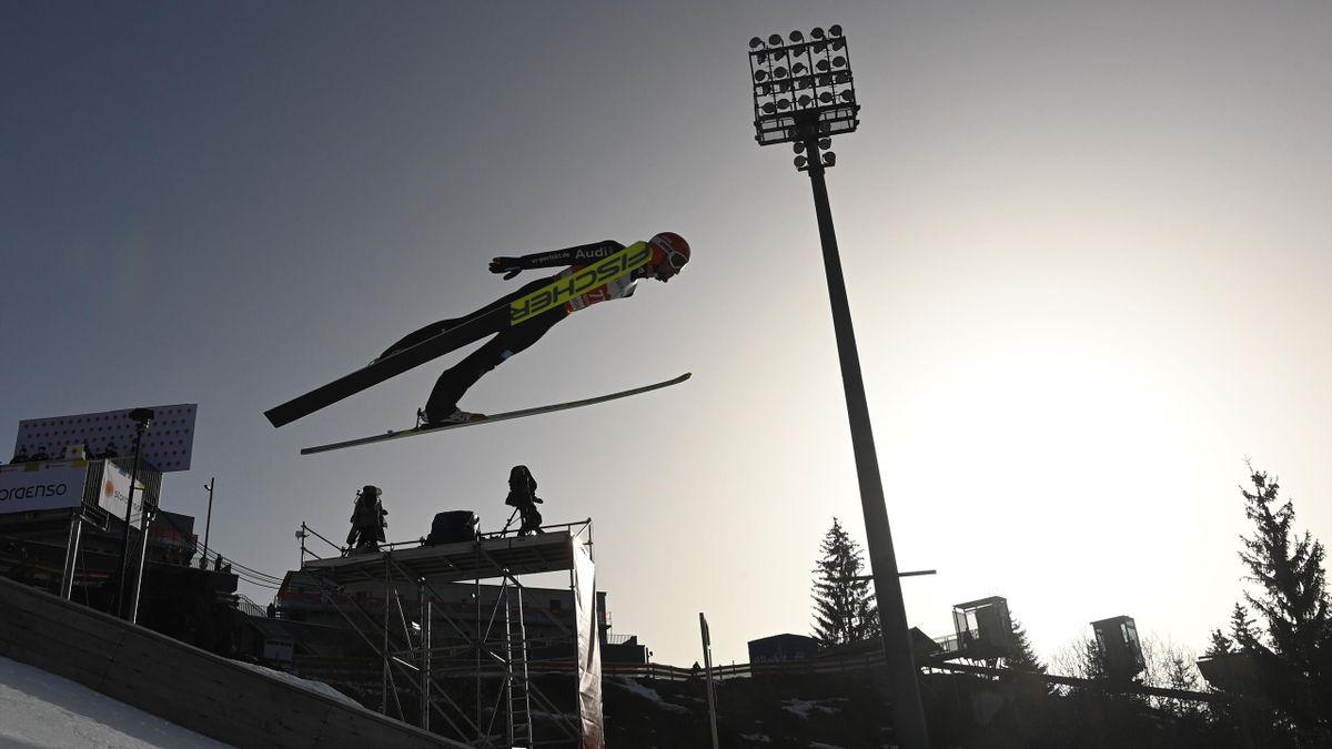 Markus Eisenbichler bei der WM in Oberstdorf