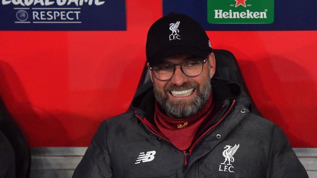Jürgen Klopp beim Sieg von Liverpool gegen Salzburg