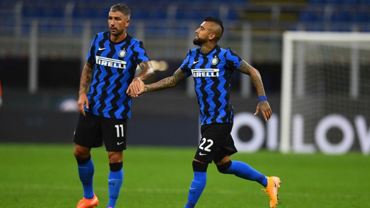 Kolarov e Vidal - Inter - Serie A 2020-2021