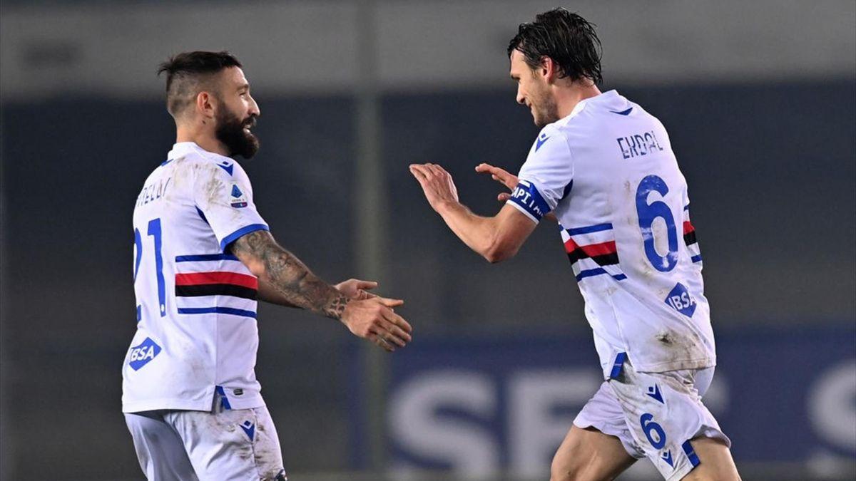 Albin Ekdal - Verona-Sampdoria - Serie A 2020-2021