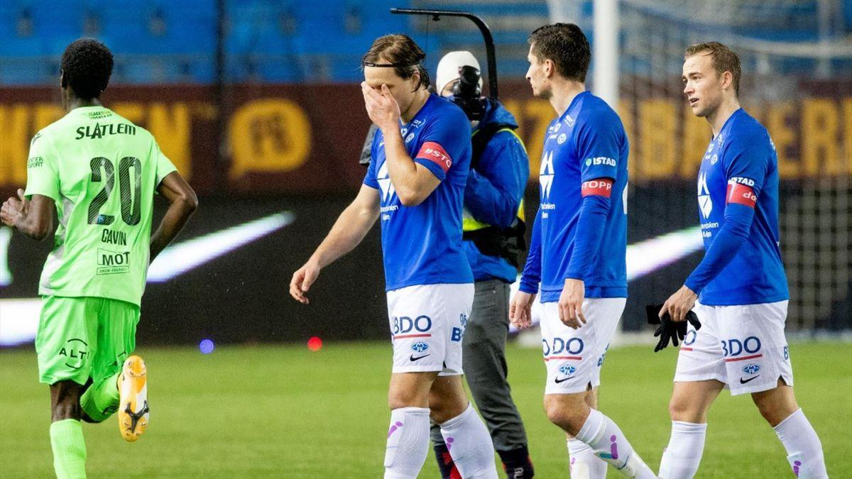 Martin Bjørnbak, Kristoffer Haugen og Martin Ellingsen