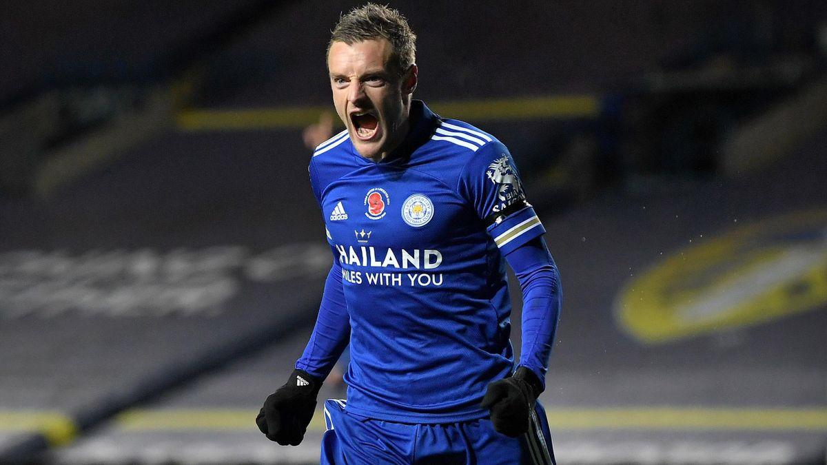 Jamie Vardy i-a adus un nou succes mare lui Leicester City, de această dată la Leeds