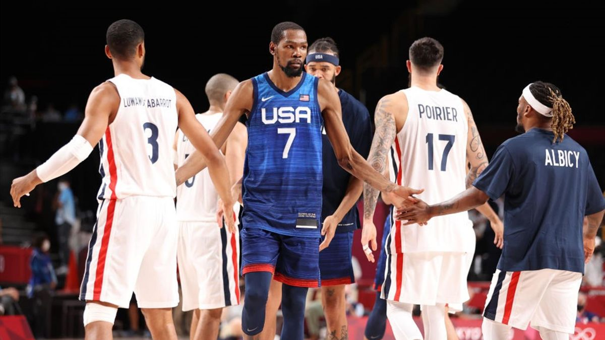 Tokyo 2020   Dream Team verrassend onderuit tegen Franse basketballers