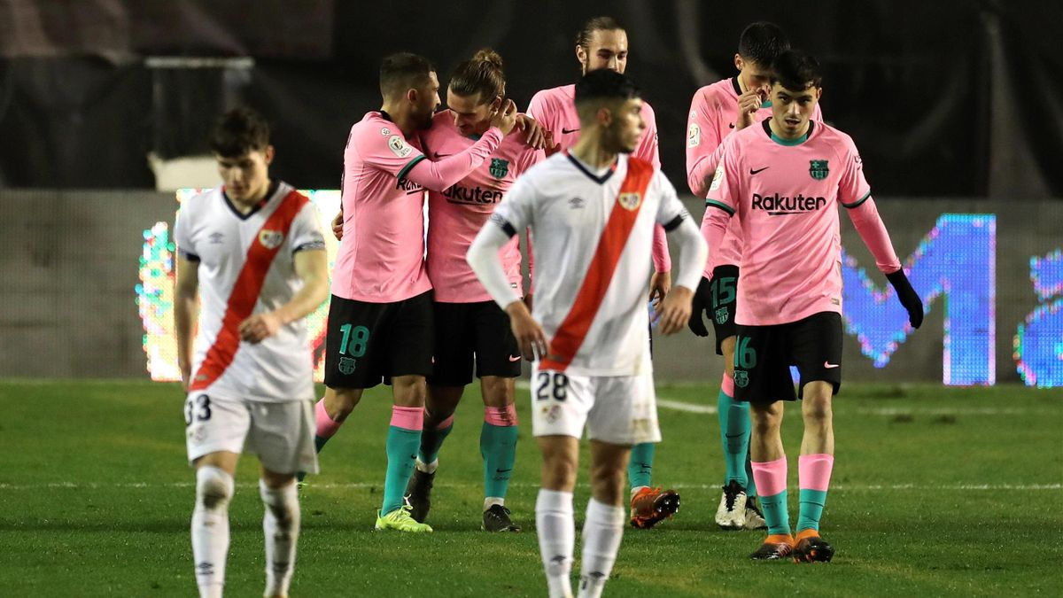 Griezmann - Rayo Vallecano-Barcellona - Coppa del Re 2020/2021 - Imago pub only in ITAxGERxSUIxAUT