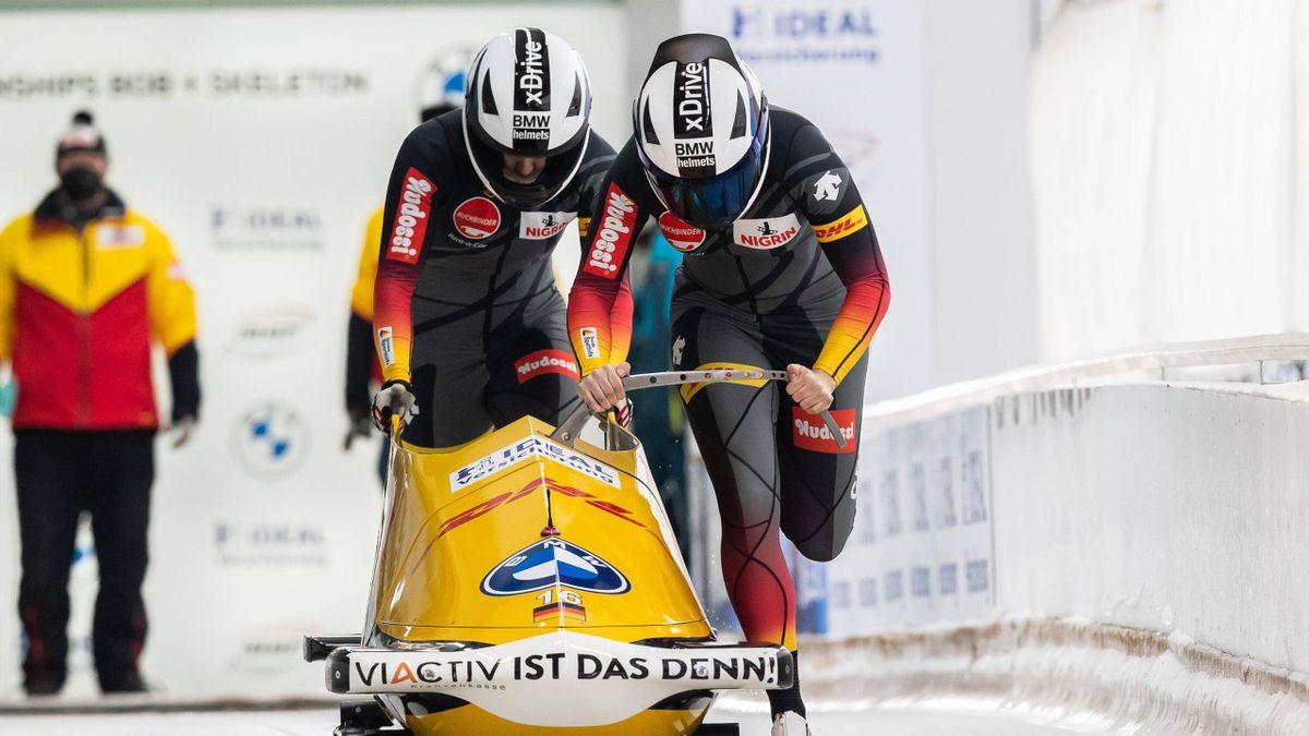 Kim Kalicki - Bob-WM in Altenberg