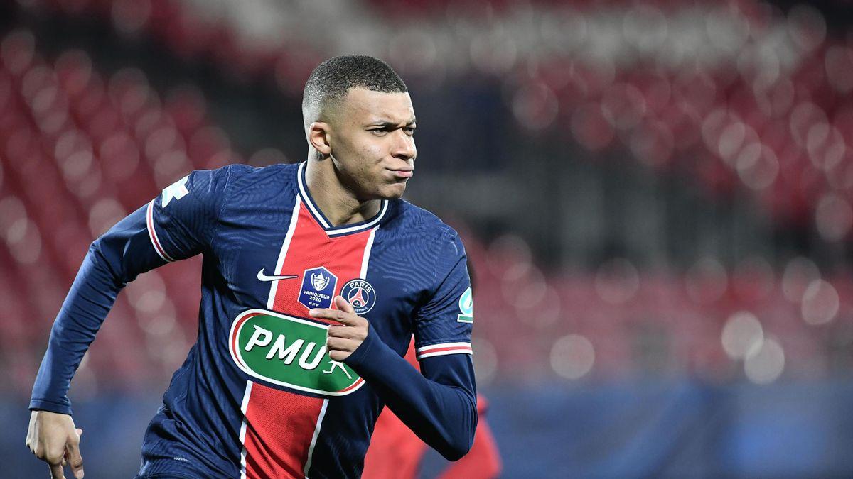 Kylian Mbappe, atacantul lui PSG