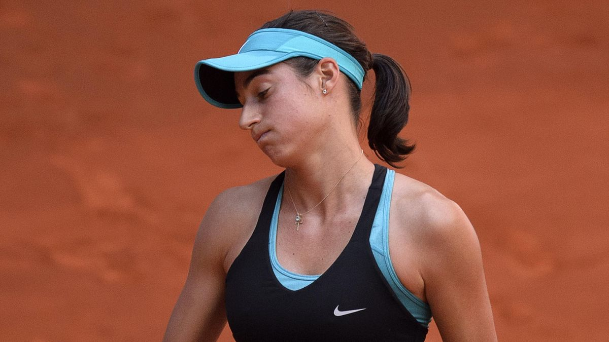 Caroline Garcia, battue par Radwanska à Madrid