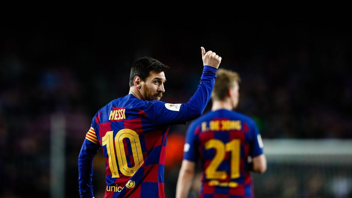 Leo Messi, în meciul cu Leganes