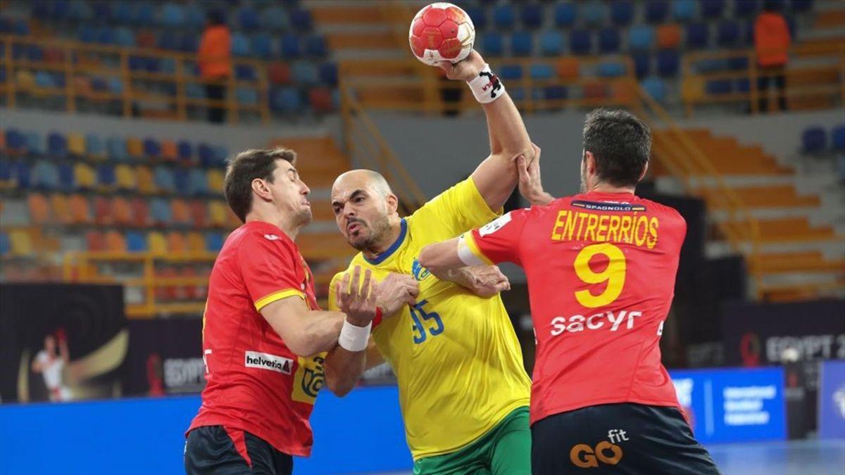 España - Brasil - Mundial de balonmano 2021