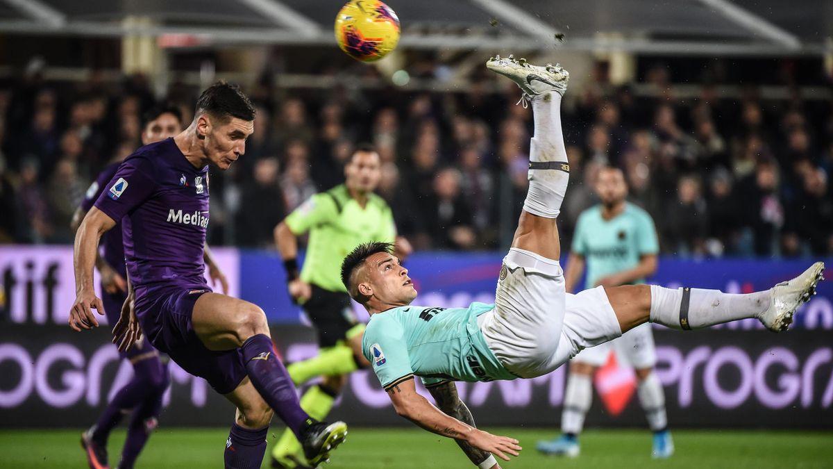 Lautaro Martinez - Fiorentina-Inter - Serie A 2019/2020 - Getty Images