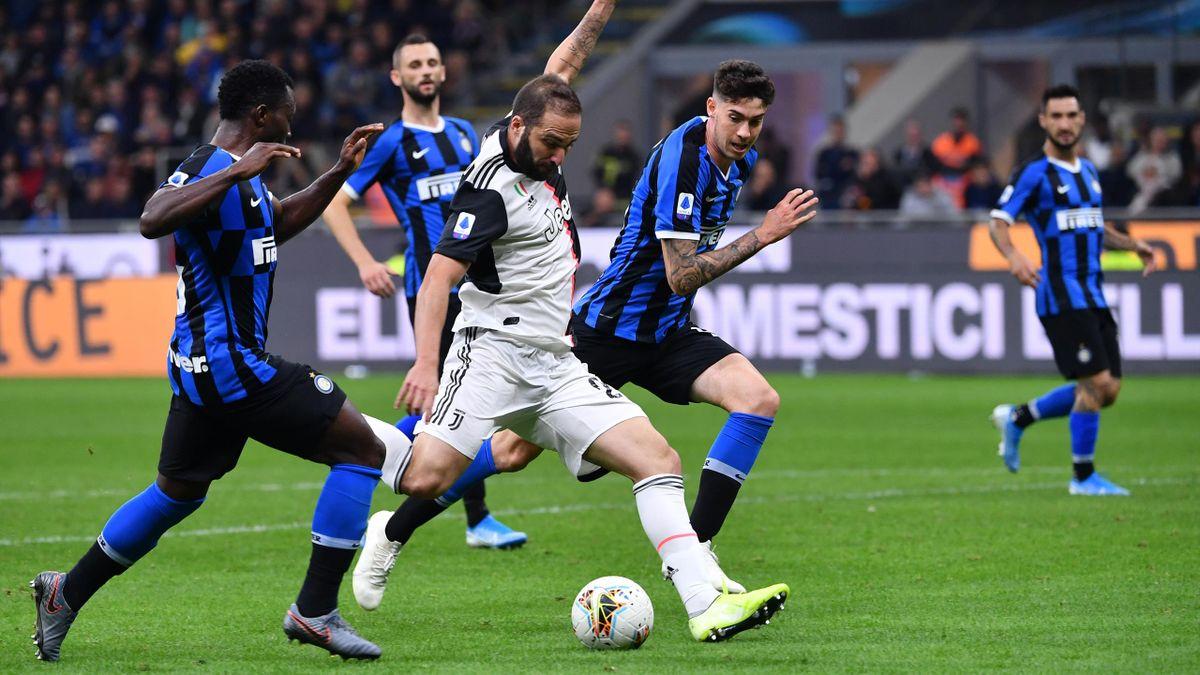 Juventus Turin Inter Mailand