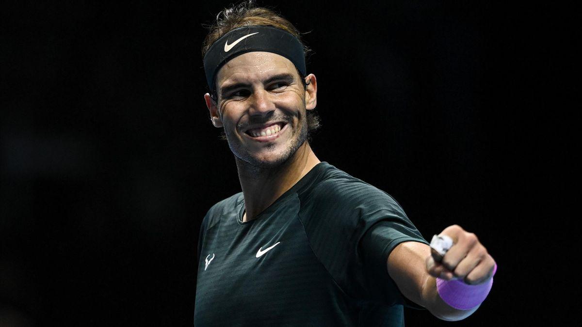 Rafa Nadal en las ATP Finals