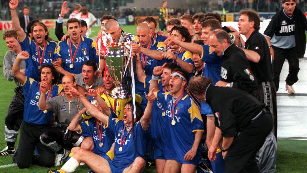 La Juventus con la Champions League vinta nel 1996