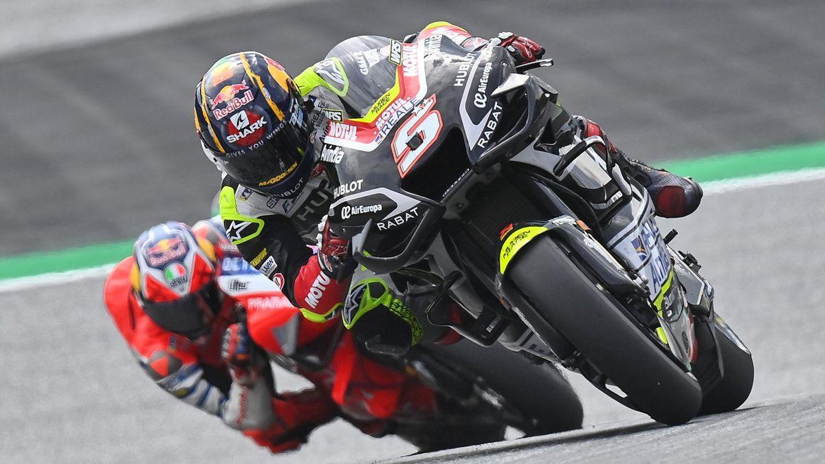 Johann Zarco (Esponsorama Racing) au Grand Prix d'Autriche, le 15 août 2020