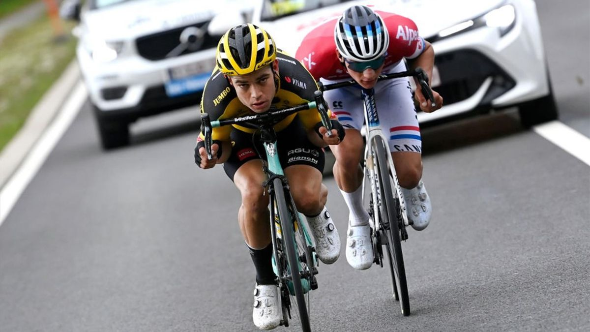 van Aert, van der Poel - Giro delle Fiandre 2020 - Getty Images