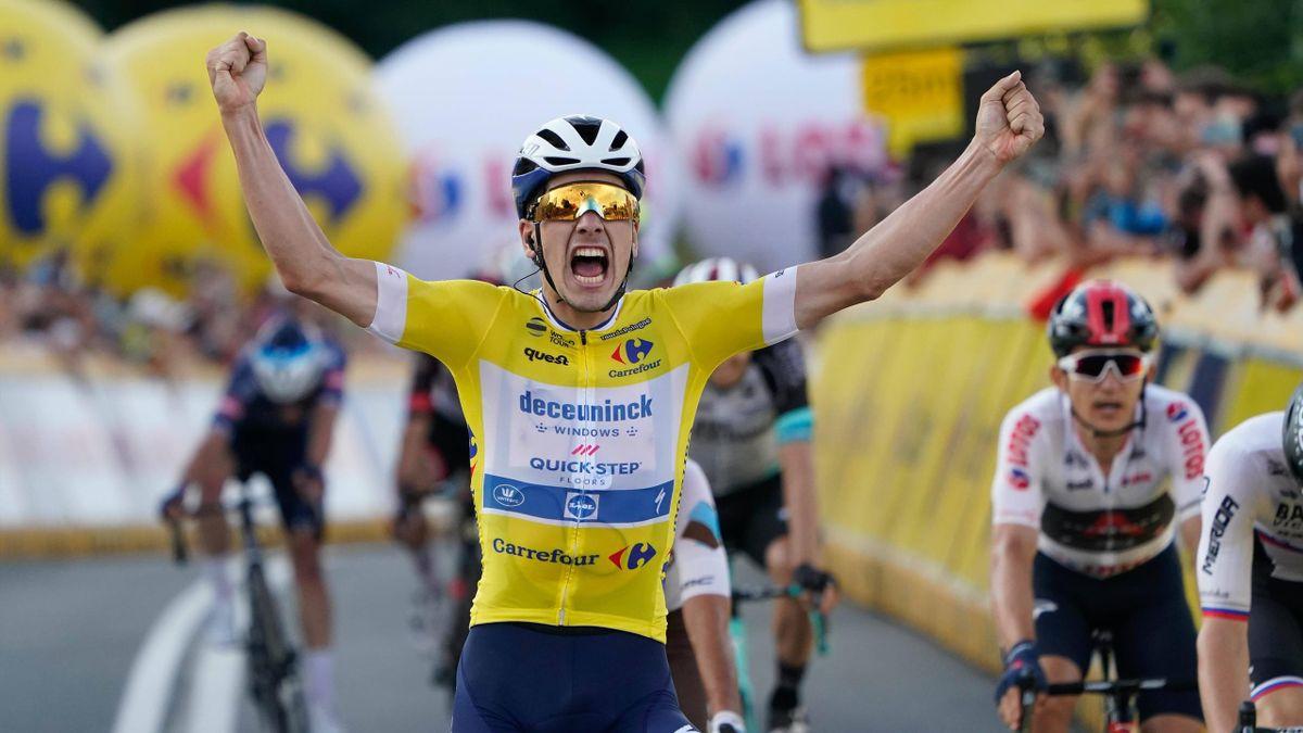 João Almeida vince la tappa del Bukovina Resort al Giro di Polonia 2021 - Imago pub not in POL