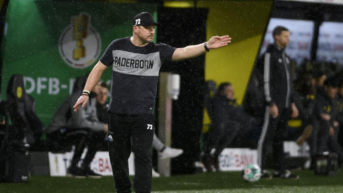 Steffen Baumgart - Borussia Dortmund vs. SC Paderborn