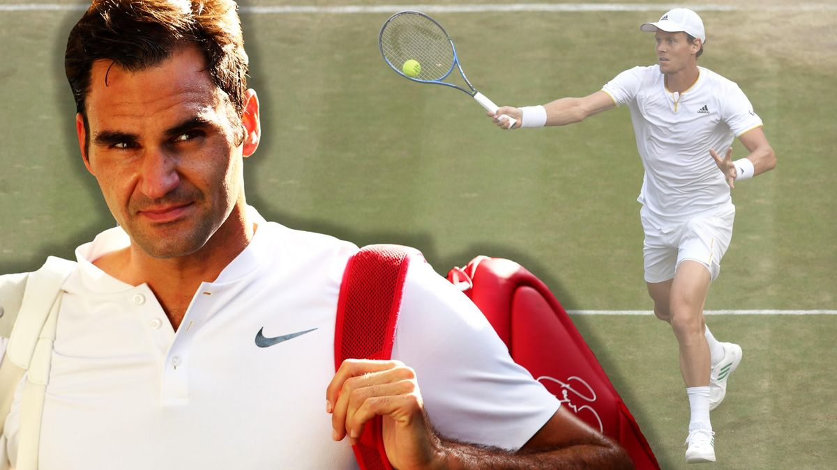 Roger Federer trifft auf Tomas Berdych