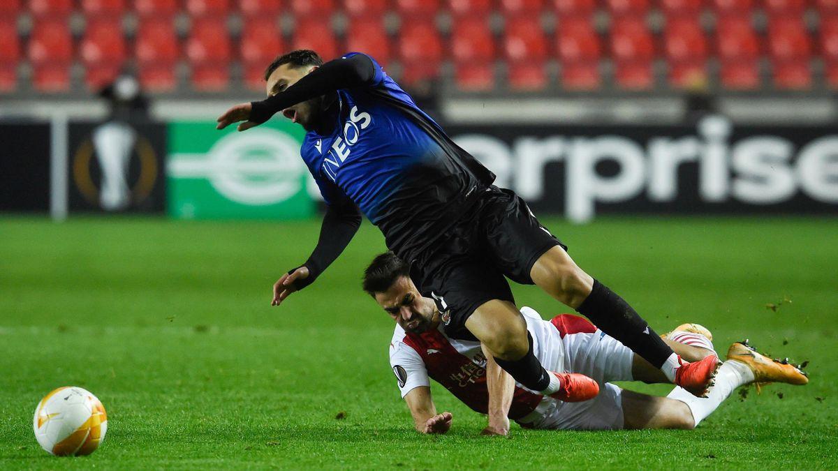 Nice s'est incliné devant le Slavia Prague