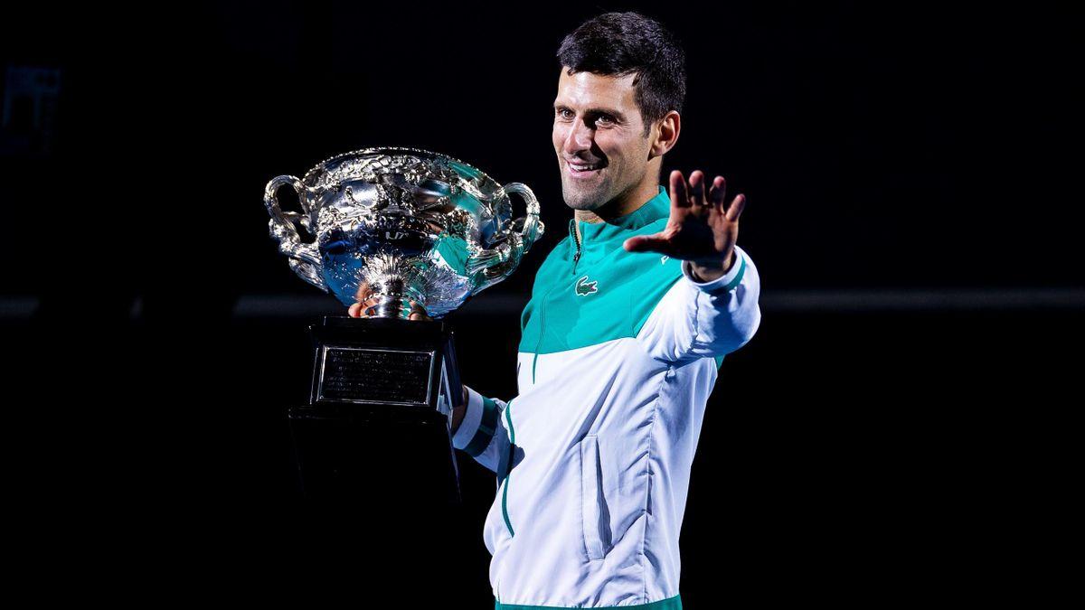 Novak Djokovic gewinnt die Australian Open 2021