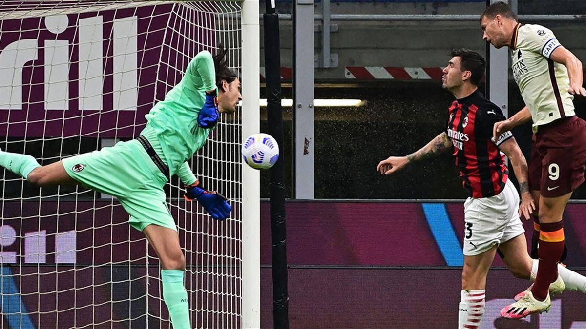 Tătărușanu, în Milan - Roma 3-3