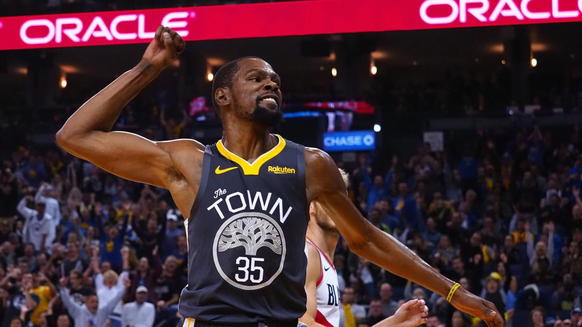 Kevin Durant ends Warriors' losing streak