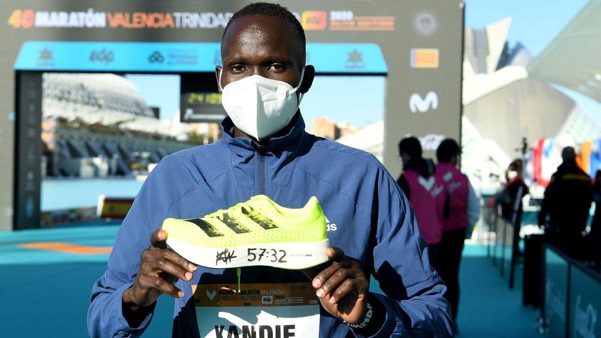Kibiwott Kandie (Kenya) / Semi-marathon de Valence 2020