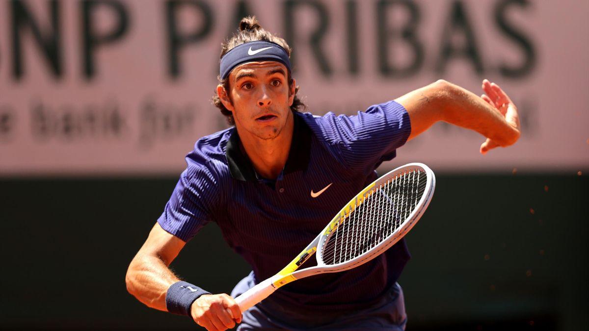 Lorenzo Musetti à Roland-Garros (2021)