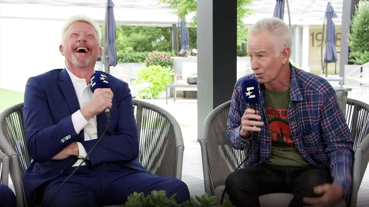 Boris Becker, John McEnroe