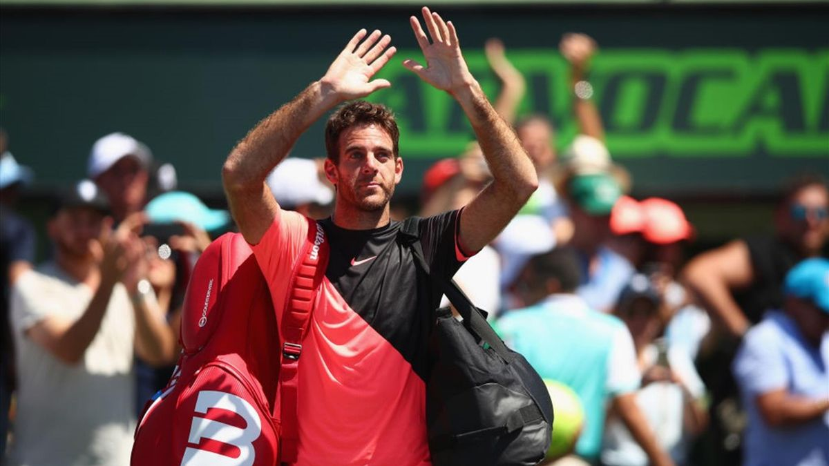 John Isner-Juan Martin Del Potro - Miami Open 2018 - Getty Images