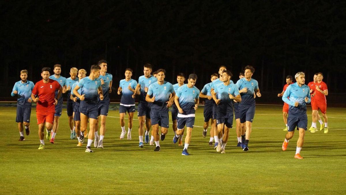 Naționala olimpică a României, la primul antrenament pe insula Hokkaido