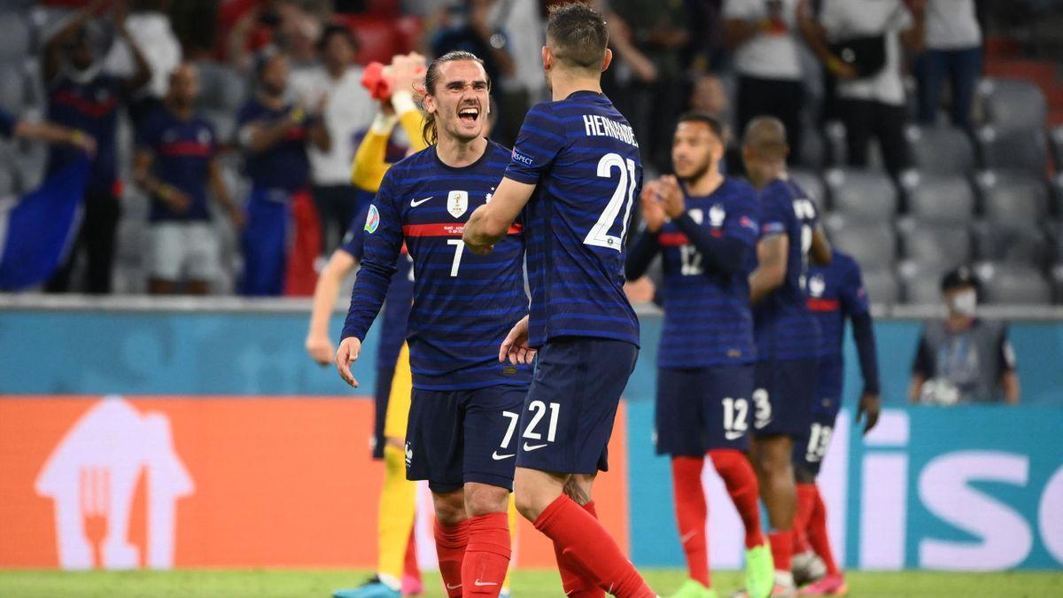 Griezmann et Hernandez tout à leur joie