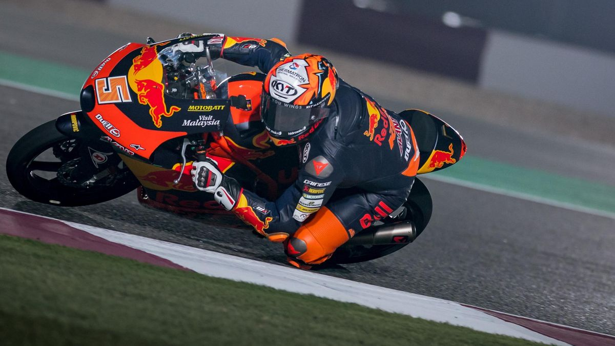 Jaume Masia, KTM Ajo, Moto3, Getty Images