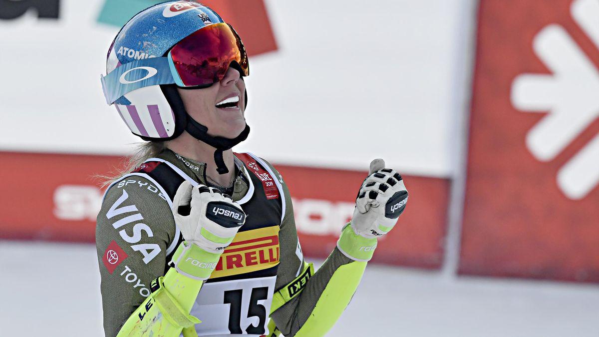 Mikaela Shiffrin, sacrée championne du monde du super-G à Are