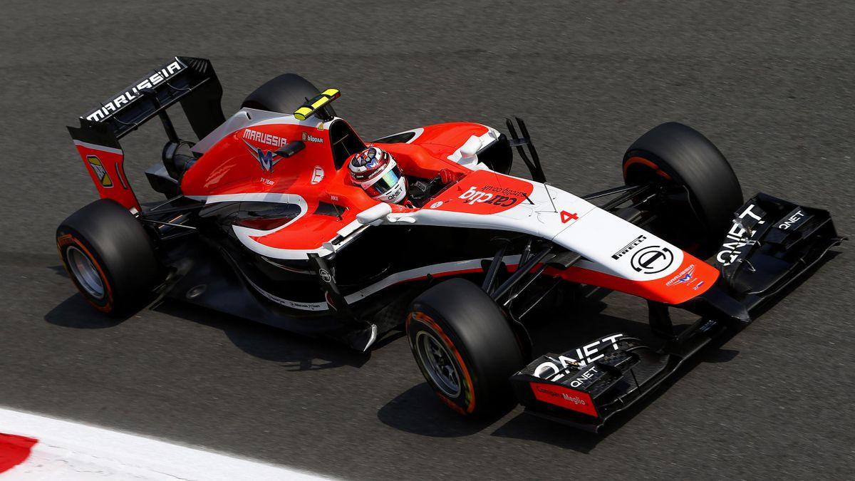 Max Chilton (Marussia) au Grand Prix d'Italie 2014