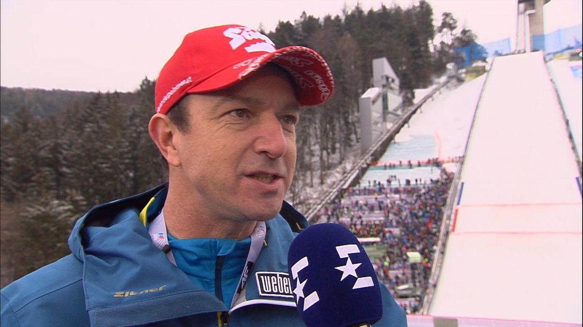 Alexander Pointner am Eurosport-Mikrofon