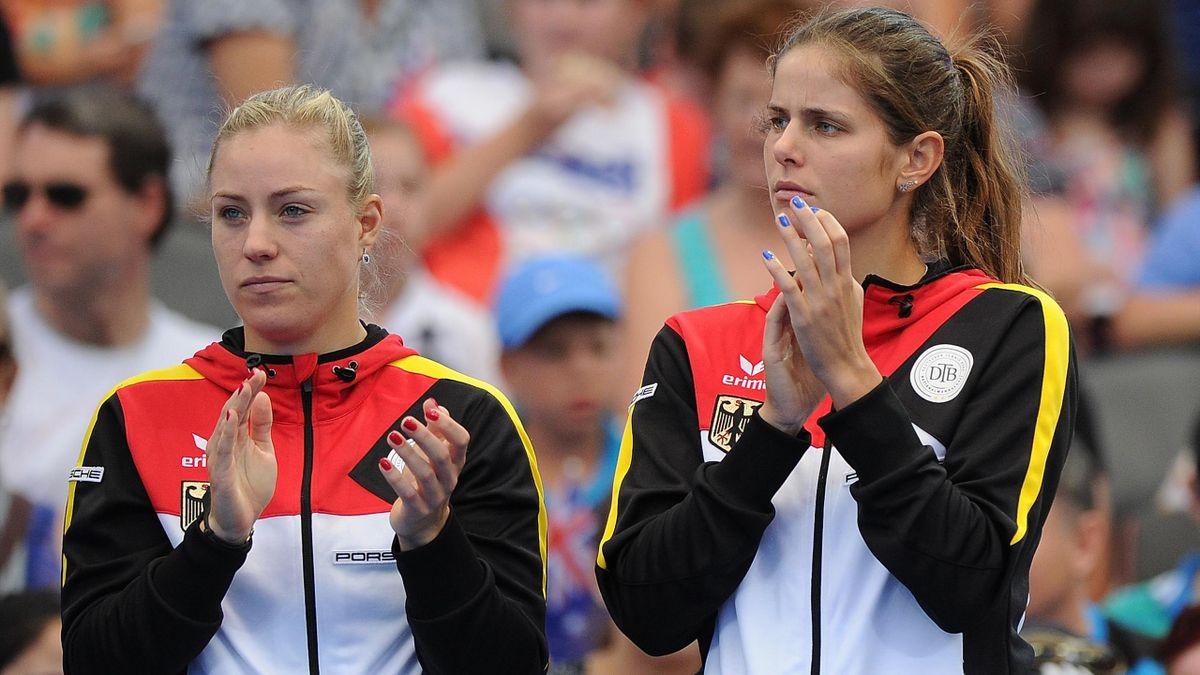 Görges, Kerber, Fed-Cup