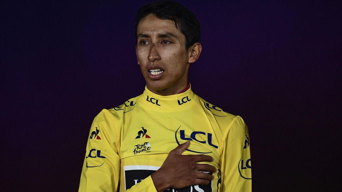 Egan Bernal, vainqueur du Tour de France 2019.