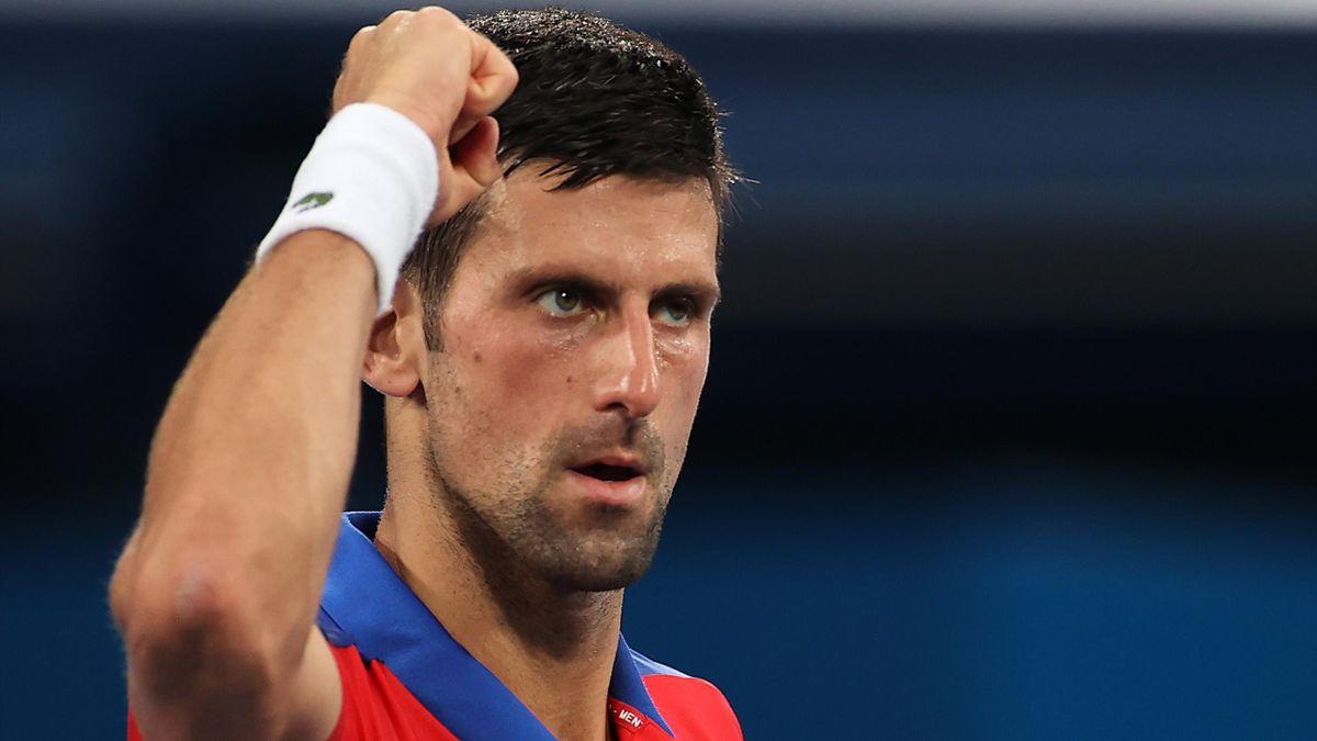 Novak Djokovic is into the Tokyo 2020 quarters