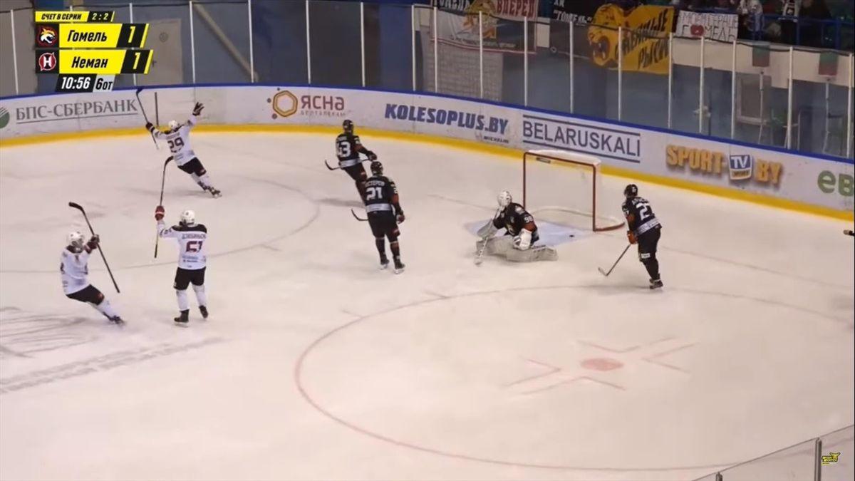 «Гомель» – «Неман», чемпионат Беларуси, шесть овертаймов