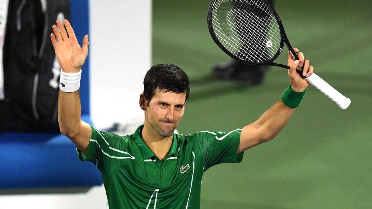 Novak Djokovic in Dubai