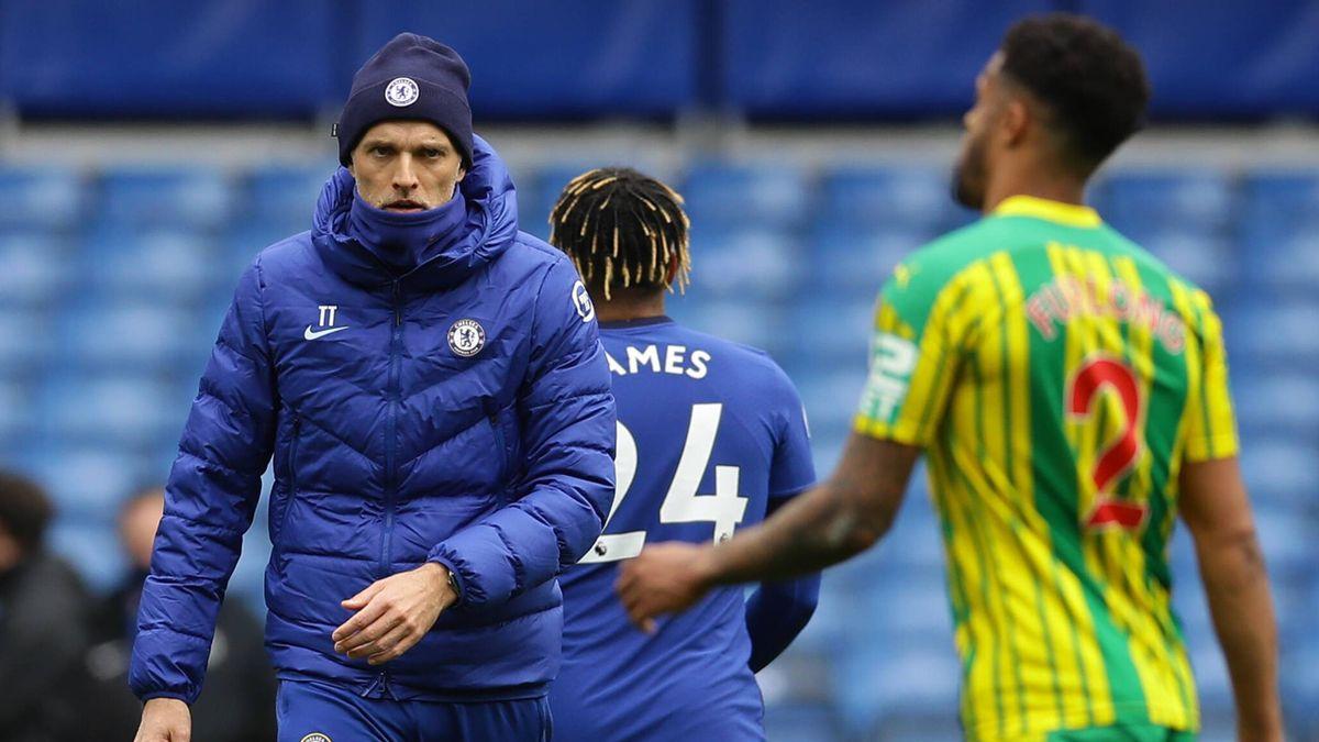 Chelsea-Coach Tuchelö nach der Niederlage gegen West Bromwich Albion