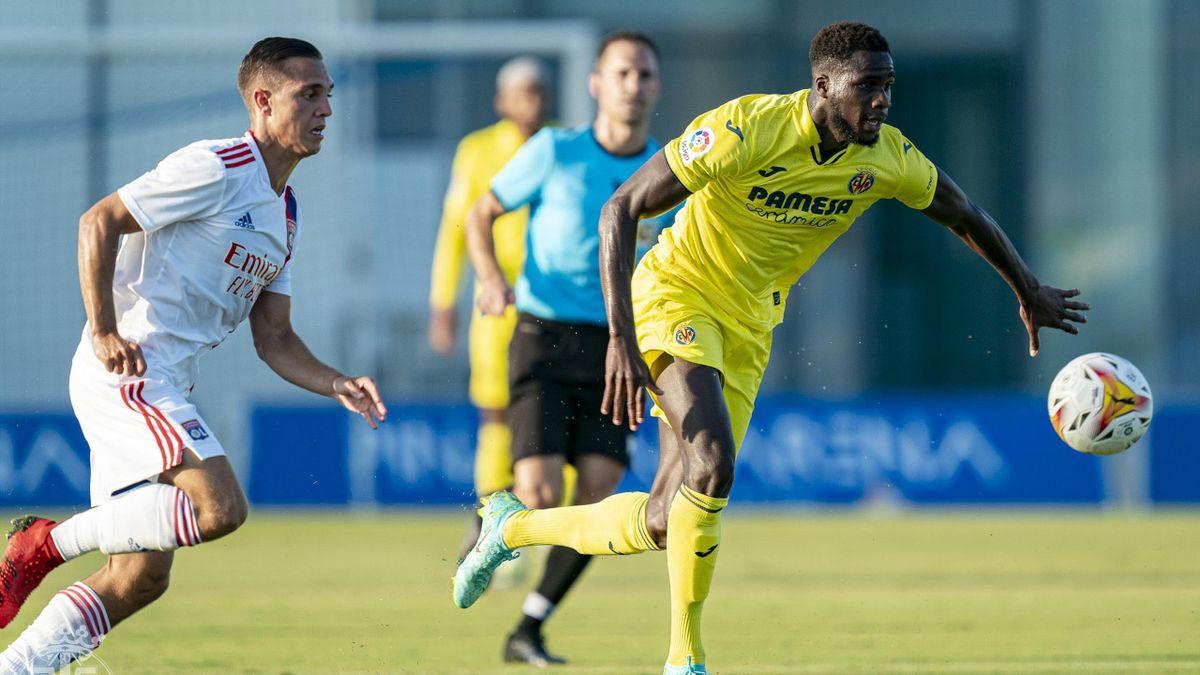 Partido amistoso entre el Villarreal y el Lyon