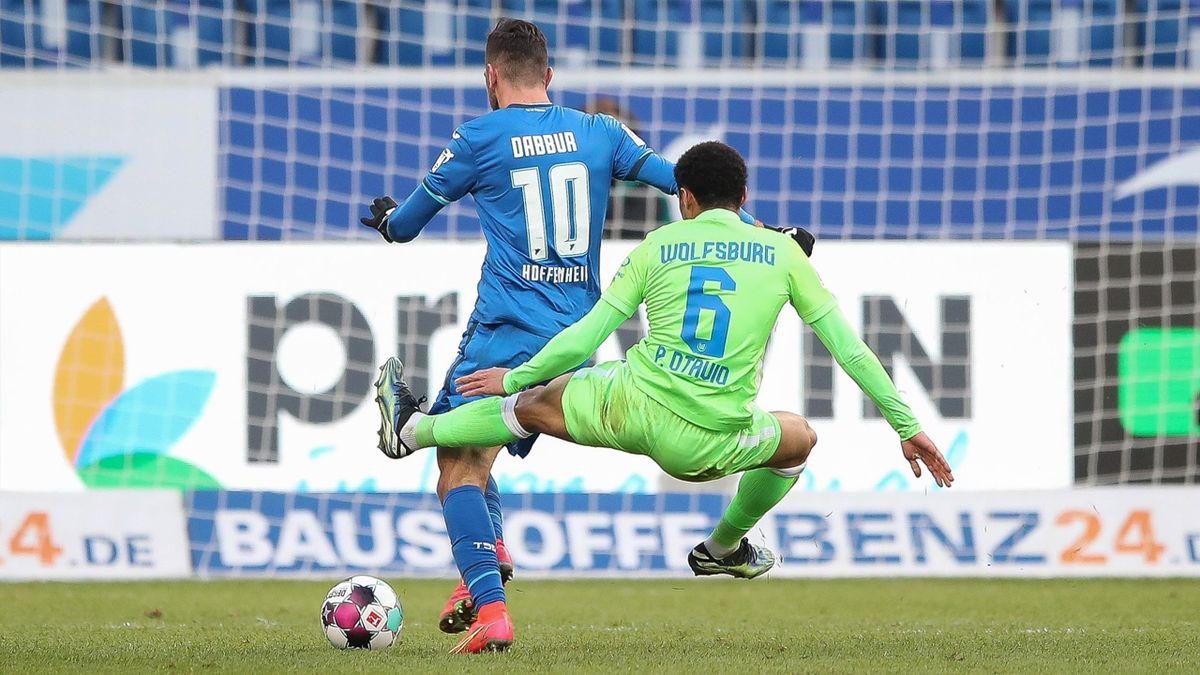 Paulo Otávio (VfL Wolfsburg) nach Notbremse gegen Munas Dabbur (TSG Hoffenheim) für vier Spiele gesperrt