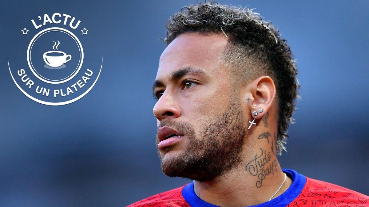 Neymar dans l'actu sur un plateau