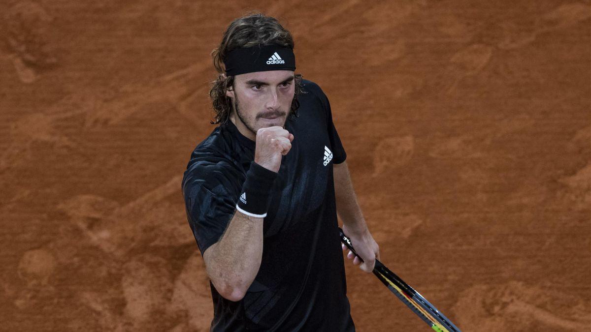Stefanos Tsitsipas à Roland-Garros