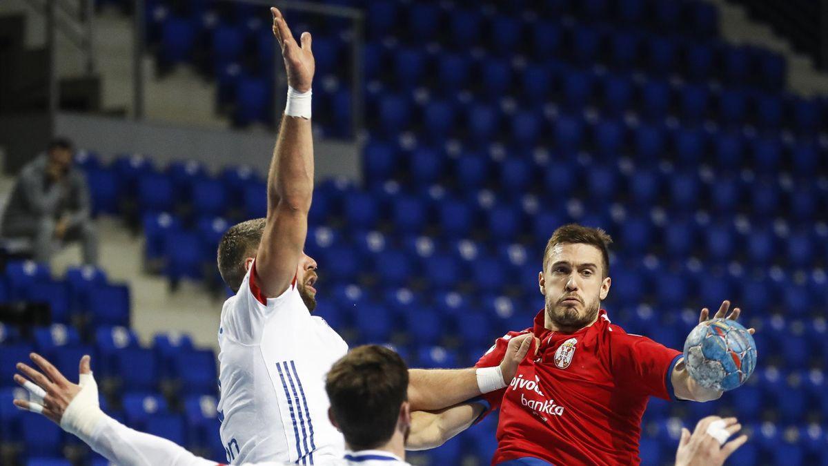 Serbie-France en qualifications pour l'Euro-2022 de handball