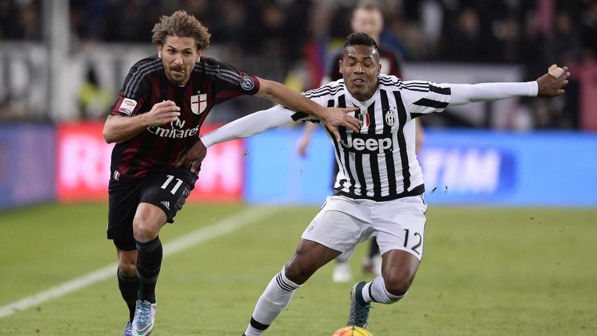 Cerci Alex Sandro - Juventus-Milan - Serie A 2015/2016 - LaPresse